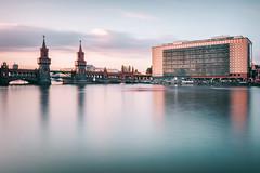 Oberbaumbrcke | Berlin, Germany 2015 (philippdase) Tags: oberbaumbrcke berlin germany longexposure sunset sigma1835mm18 summer architecture spree nikond7100 leebigstopper philippdase