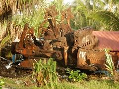 What Used To Be Some Kind of Machine (mikecogh) Tags: funafuti tuvalu machine rust change corrosion iron