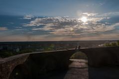 (Dark Welder) Tags: ukraine mukachevo castle people sky sunset nikon d90