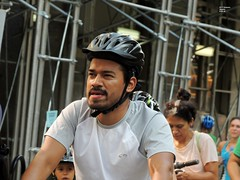 NYC Summer Streets  8-20-16 (local1256) Tags: summerstreets streetfair waterspray waterslide manhattan closedstreet nyc newyorkcity biking parkave nycsummer streets
