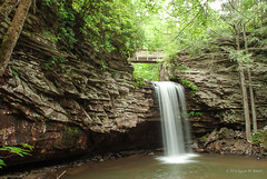 The Fall of Summer (Back Road Photography (Kevin W. Jerrell)) Tags: waterfalls streams scottcounty virginia summer smokywater slowshutter nature naturalbeauty hiking southwesternvirginia