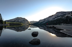 Calm Mornings (Carter_Wilson) Tags: lake refelction sunrise tenayalake yosemite