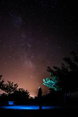 Va Lctea (Marcos Carrascosa) Tags: fotografia nocturna via lactea estrellas largaexposicion valctea milkyway milky way lantern linterna