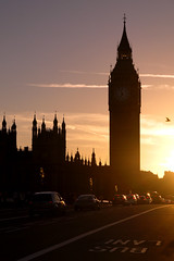 Vacant bus lane (Larterman) Tags: londoncity urban london londonsunset westminster bridge