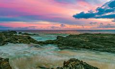 """""""gold coast dawn"""" (rod marshall) Tags: dawn oceandawn rocks snapperrocks"""