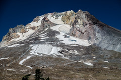 Top of the Rock (Culinary Fool) Tags: magicmileskyride glacier 18135mm oregon culinaryfool rock mountain timberline autumn sky brendajpederson 2016 mthood september snow