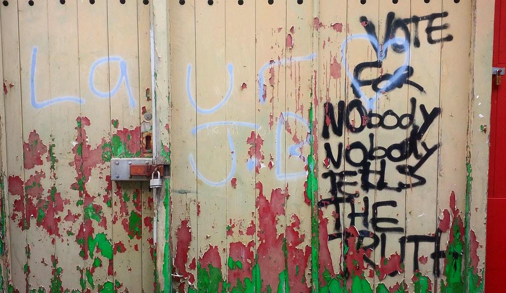 Vote for Nobody graffiti (Late Breaks Devon) Tags graffiti late breaks devon north & The World\u0027s Best Photos of barnstaple and graffiti - Flickr Hive Mind