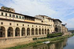 Buildings along the banks of the River Arno # 1 - Florence, Tuscany, Italy 2016 (Moocha) Tags: buildings along banks river arno florence tuscany ital