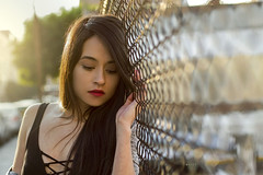 Dany (Alan Copado E.) Tags: metepec toluca mexico girl beautiful modelo friend shooting fashion portrait vsco 50mm bokeh morning naturallight centro rimlight sunlight canont3 canon