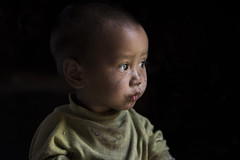 (silvia pasqual) Tags: asia asian burma myanmar birmania chin state mountain trekking portrait portraiture lensculture documentarie photp photography people beautiful beauty child children childhood eyes light colors travel travelphotography travelling human little baby face canon world soul monde
