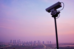 Surveillance (Yeong-N) Tags:          cctv  asia korea southkorea incheon songdo mountain evening sunset magichour pink violet purple surceillance bigbrother watching abservation