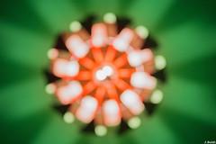 Unscharf (juliaboldt87) Tags: indoor lampe unscharf unschrfe farben formen projekt 365fotosorg monatsthema licht kontrast kunst knstlich tag323 rund kreis rundlich rad striche punkte bokeh