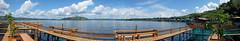 Sentani Panorama (Jokoleo) Tags: sentani danau lake papua jayapura cristo cafe restaurant indonesia panorama 180 terfujilah