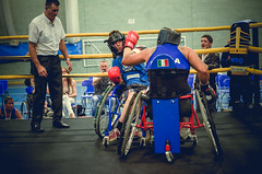 Adaptive boxing for disabled boxers in uk (sophie_merlo) Tags: disability sport disabled sports boxing wheelchair amputee adaptiveboxing adaptivesport wheelchairboxing wheelchairsports paralympic documentary photojournalism
