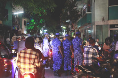 Protests after #stealingparadise (dying regime) Tags: maldives stealingparadise protest streets people corruption policestate police male sunnysideoflife stealing paradise dyingregime munshidmohamed