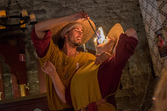 Come on baby, light my fire (stenaake) Tags: fire med medieval festival week visby couple restaurant sweden gotland fireeater man woman evening