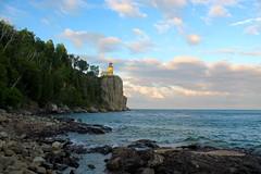 Split Rock Lighthouse (Piedmont Fossil) Tags: splitrock minnesota lighthouse lake superior rock cliff headland shore