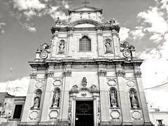 Church (Wero's pics) Tags: lecce church chiesa architecture barocco blackandwhite blackwhite biancoenero