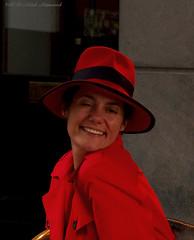 Portrait (Natali Antonovich) Tags: portrait sweetbrussels brussels belgium belgique belgie lifestyle mood smile hatisalwaysfashionable hat hats style sablon dezavel