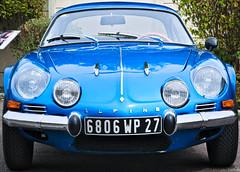 Good Old Alpine Berlinette. (Gilles,Gilles,Lemonpeel) Tags: car alpine renault nikon rawtherapee gimp