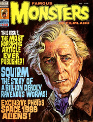 Famous Monsters #130 (1976), Dracula A.D. 1972 cover by Basil Gogos (Tom Simpson) Tags: famousmonsters 1976 draculaad1972 cover basilgogos vintage art horror painting 1970s illustration famousmonstersoffilmland vampire dracula petercushing