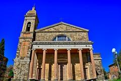 Montalcino il Duomo (giannipiras555) Tags: chiesa montalcino toscana colonne campanile