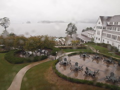 From my window at the Sagamore (JohnVenice) Tags: usa ny newyork rain poem day lakegeorge adirondack rainday sagamore