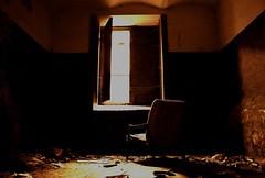 (dawe83) Tags: light orange color window wall scary chair nikon mess empty room dreamy nikkor 18105mm d5100