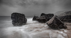 The Storm at Elgol (TimHarris) Tags: skye boulders elgol views100 favorites10 canonef1635mmf28liiusm 5dmarkii 5dmark2