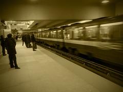 Metro (Génial N) Tags: canada station subway metro pentax quebec montreal pentaxk01