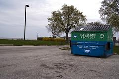 (.:Chelsea Dagger:.) Tags: ohio dumpster cleveland clevelandohio recycle urbanexploring urbex chelseadagger chelseakaliwhatever cmckeephotography chelseamckee