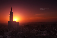 Warm Feelings (Loai Alyamani) Tags: sunset twilight mosque holy makkah almasjid