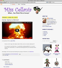 Miss Cellania - Catnip: Egress to Oblivion?