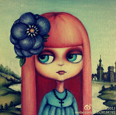 Blythe Oil painting