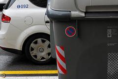 contenidors (10) (Dani del Sol) Tags: barcelona espaa trash spain photojournalism catalonia basura catalunya economic crisis contenedores reciclaje 15m recortes fotoperiodismo occupy 2013 contenidors retallades reciclatge