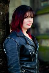 IMG_1239 (Neil Keogh Photography) Tags: red green girl manchester hellokitty gothgirl urbis tartan tartanskirt cathedralgardens newrockboots manchestercitycenter modelchristine
