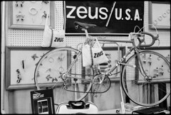 Zeus (Chris Protopapas) Tags: sculpture bicycle nikon espana spanish zeus nikons3 drumscanner hells3900 itsnotacapture