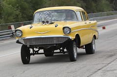 57 Chevy (Bill Jacomet) Tags: river day little drags dragracing 2012 raceway the of