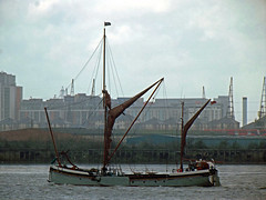 thames sailing barge will /31/1/2013/ (philip bisset) Tags: london will thamessailingbarge unitedkingdomriverthames
