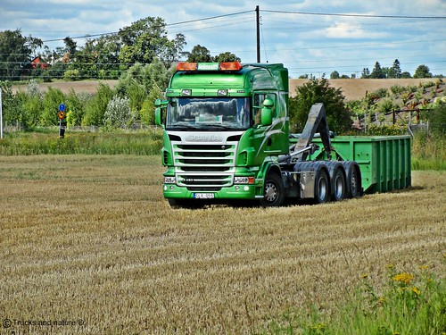 Scania R480 Grönvalls Load exchanger