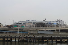 Yankee Stadium (Angelus359) Tags: nyc newyorkcity cruise newyork ferry manhattan sightseeing circleline yankeestadium circleline42