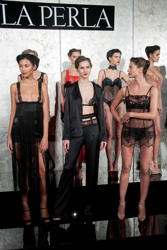 Mercedes-Benz New York Fashion Week Autumn/Winter 2013 - La Perla - Presentation - WENN.com