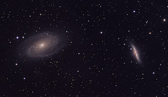 M81, M82 (Daniele Malleo) Tags: sky stars space telescope astrophotography astronomy galaxies ccd astrophoto qsi deepsky Astrometrydotnet:status=solved Astrometrydotnet:version=14400 Astrometrydotnet:id=alpha20130214925985