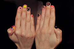 Nail art! (Caisa Jrgenson) Tags: nails nailart naildesign