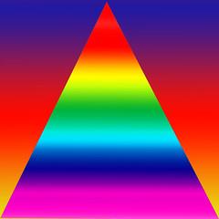 Devils triangle (Marco Braun) Tags: color rainbow triangle colorado colours geometry colored coloured farbig bunt regenbogen mucho geometrie dreieck geometricbeauty couleures