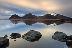 Mt. Batman (orvaratli) Tags: winter mountain snow three iceland arctic höfn vestrahorn