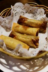 20130215-10-Spring rolls at Mulan in Hobart (Roger T Wong) Tags: food dinner restaurant duck chinese australia crispy asparagus tasmania springrolls mulan entree sigma50mmf28exdgmacro northhobart sigma50macro potatomash canoneos6d