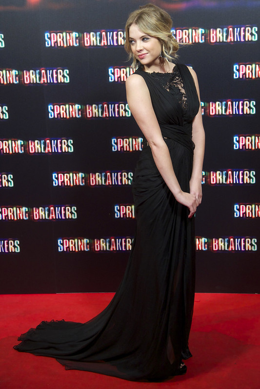 Ashley Benson at the Spanish premiere of \'Spring Breakers\' at the Callao Cinema - Sean Thorton/WENN.com