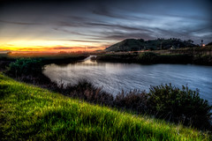 A Candle Burns Brightest (eCHstigma) Tags: california longexposure sunset nature zeiss landscape bay nikon fremont donedwards hdr marshland distagon d600 25mmf2 distagont225