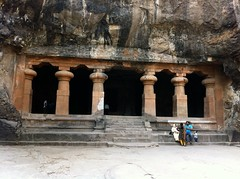 The entrance to the east wing at Elephanta (ashubij) Tags: buddhist caves shiva nataraja carvings elephanta linga elephantacaves elephantaisland shivalinga ardhanareshwara buddhistcaves gharapuriisland gharapuri yogeshwara